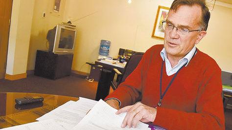 El director del INE, José Luis Pereira. Foto archivo