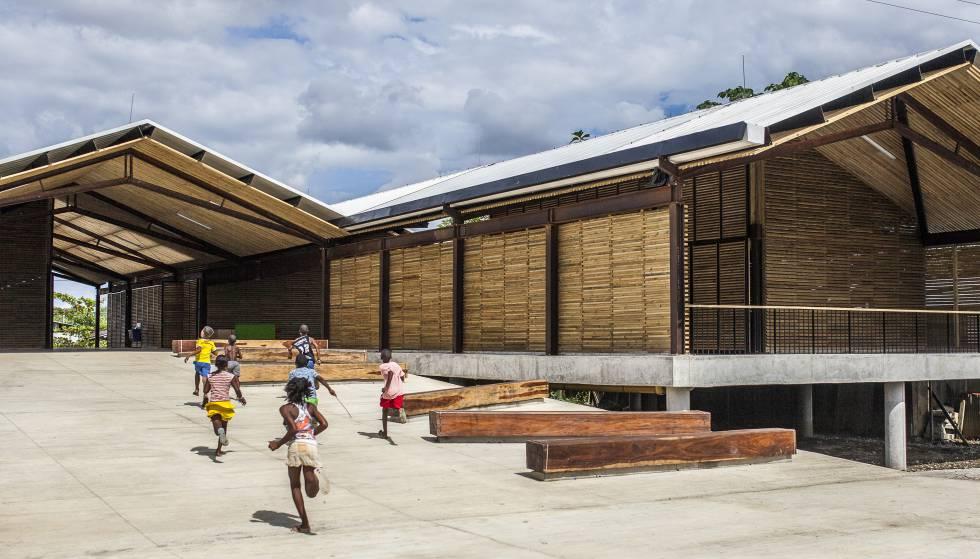 El proyecto colombiano en la selva húmeda parque educativo