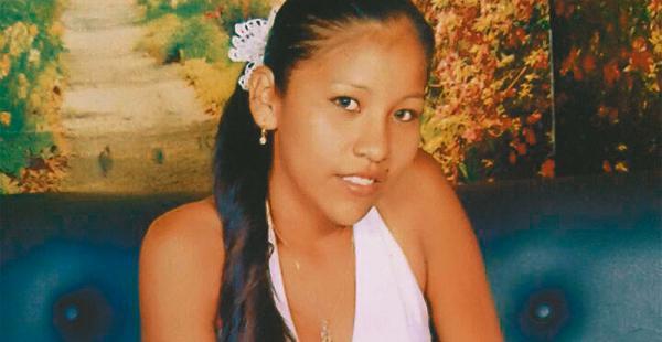 La joven Yoselin vivió desde pequeña con su abuela Carmen Olmos