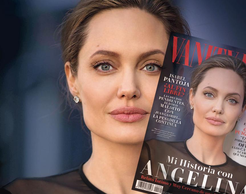 Angelina Jolie, en nuestra portada de noviembre.