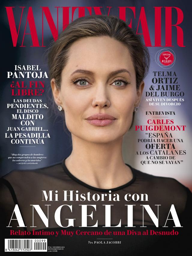 La portada de noviembre de Vanity Fair.