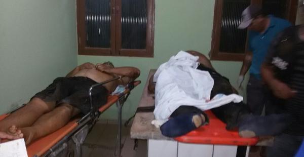 Atienden a los heridos en el hospital de San Matías