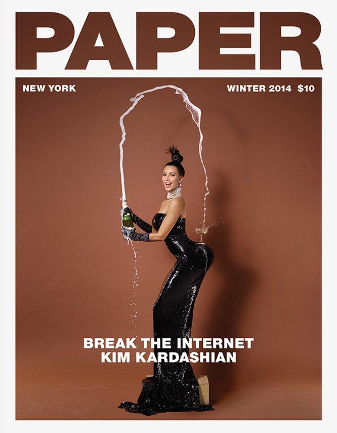 Aunque Kim Kardashian ha protagonizado varias portadas, una de las que más polémicas generó fue la de