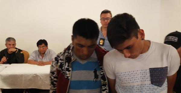 Los principales detenidos en las regiones de Puerto Quijarro y Puerto Suárez pasarán a la Fiscalía para prestar sus declaraciones