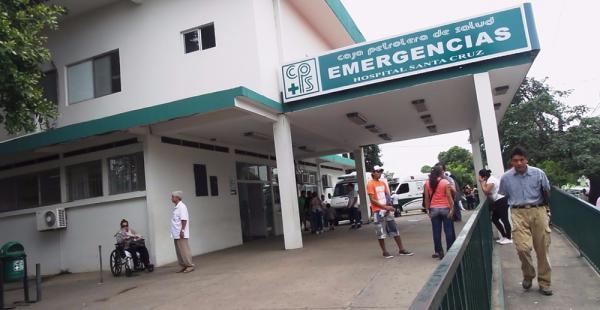 Hospital de la Caja Petrolera en Santa Cruz. (Archivo)