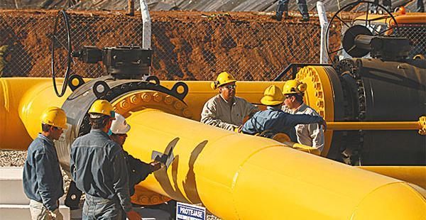 Se envía gas a Brasil y Argentina