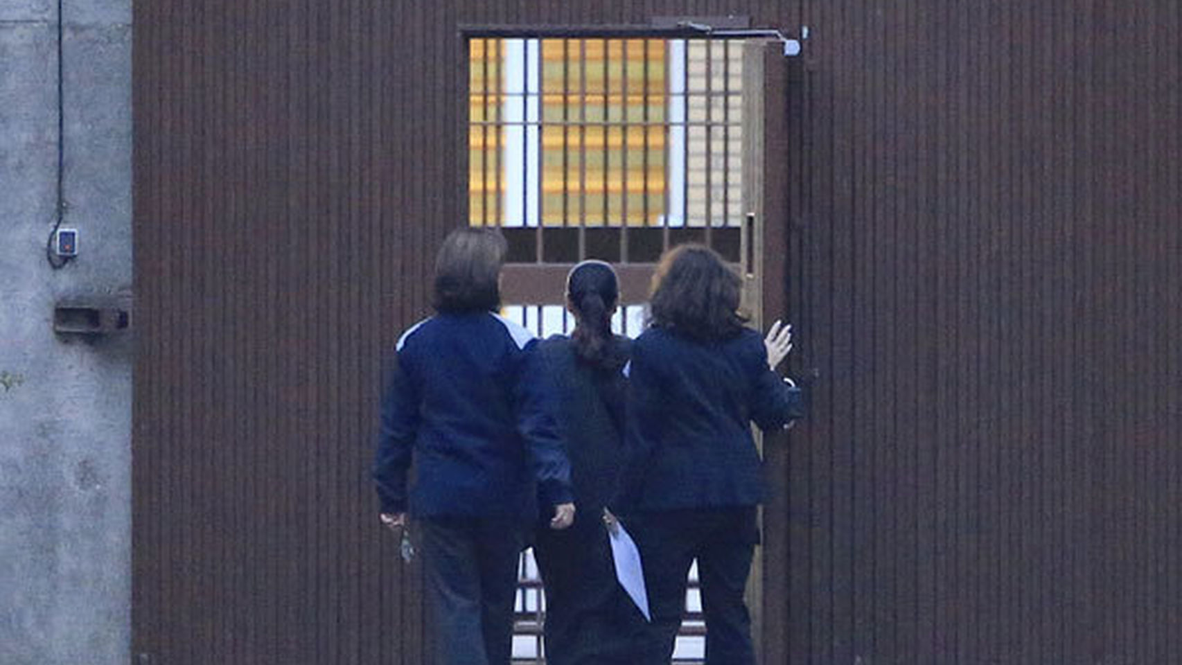 Pantoja entrando en prisión el pasado 21 de noviembre de 2014