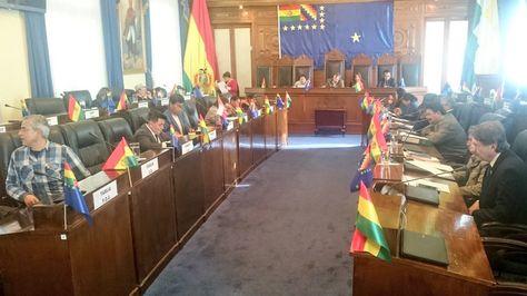Una sesión de la Cámara de Senadores. Foto: Senado