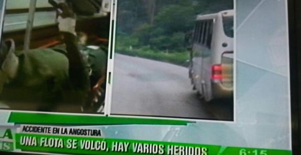 Así llegaron los heridos a la clínica Melendres (foto: PAT)