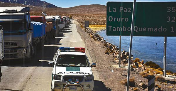 Paso provisional en Chile alivia al comercio exterior