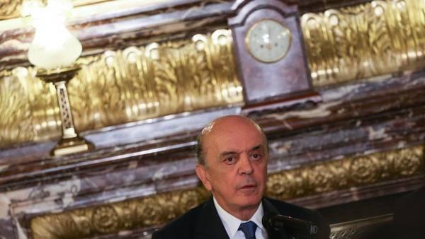 El canciller de Brasil, José Serra./ EFE