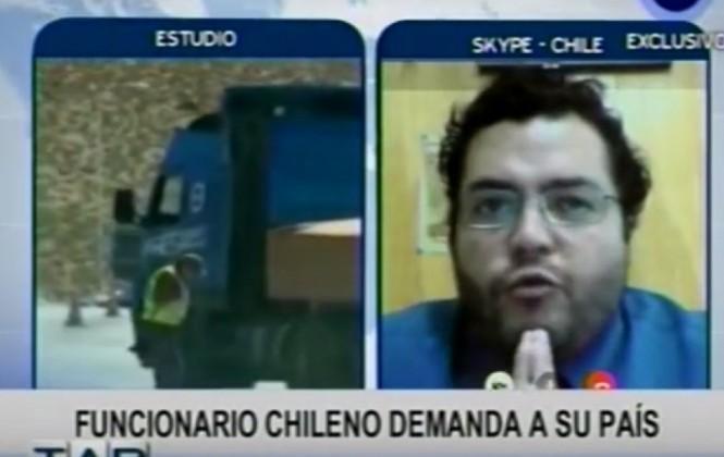 Funcionario judicial chileno que defiende a bolivianos teme perder su trabajo