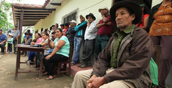 Los habitantes de Arenales se reunieron para hacer conocer su posición respecto a la ejecución del proyecto hidroeléctrico Rositas
