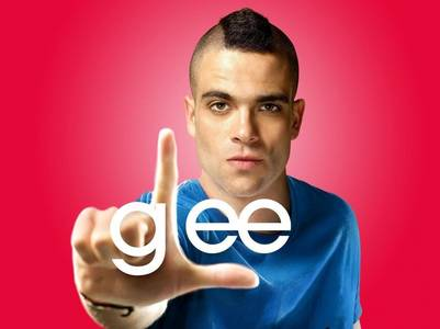 "Mark Salling, actor de ""Glee""."