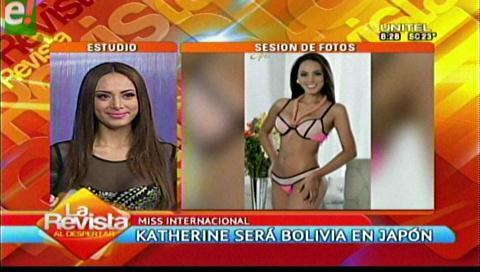 Katherine Añazgo rumbo a concurso internacional