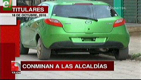 Titulares de TV: Descartan nacionalización de vehículos indocumentados