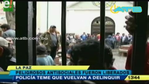Peligrosos antisociales fueron liberados de San Pedro y Policía teme reincidencia