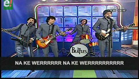 """The Beatles"" dedican una canción a Anabel"