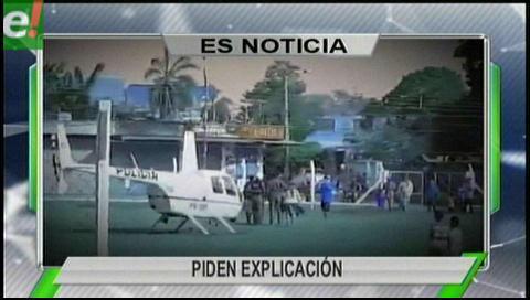 Titulares de TV: Viceministro de Seguridad Ciudadana solicitó informe sobre el supuesto mal uso del helicóptero policial