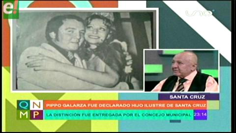 Pippo Galarza, el Hijo Ilustre de Santa Cruz