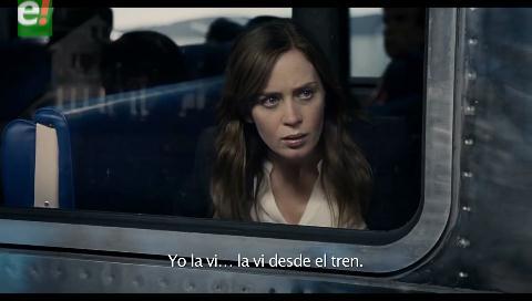 """""""La chica del tren"""" llega a las salas de Bolivia"""