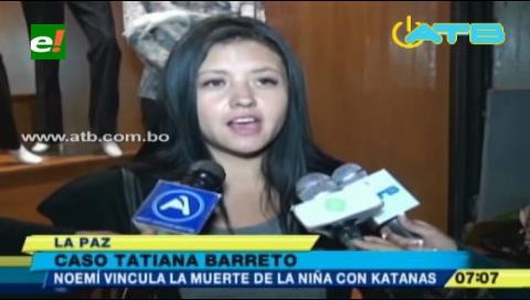 DJ de Katanas mató a Tatiana Barreto, según Nohemí Cámara