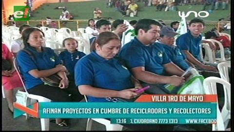 Afinan proyectos en Cumbre de Recicladores y Recolectores