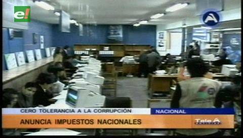 Instruyen detención de funcionario del SIN por presuntos delitos de falsedad material e incumplimiento de deberes