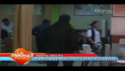 Familiares del ministro Cocarico resultan heridos tras accidente en la ruta La Paz – Achacachi