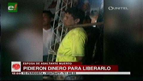 Denuncian que la Policía omitió socorro y pidió dinero para liberar a asaltante