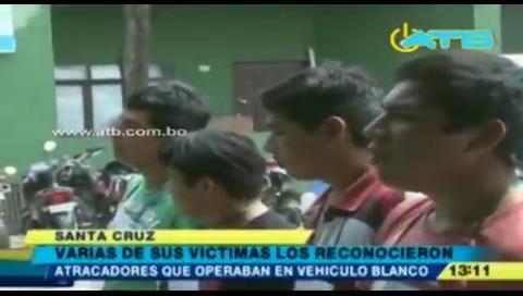 Policía aprehendió a banda de delincuentes en Santa Cruz