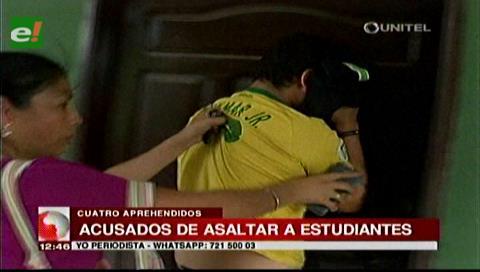 Capturan a sospechosos de asaltos en la Villa Primero de Mayo