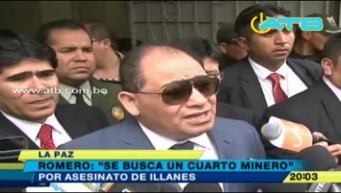 Revelan que existe un cuarto implicado en la muerte del viceministro Illanes