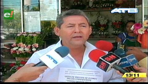 Santa Cruz: Presentan lista de precios de flores en tiendas por Todos Santos