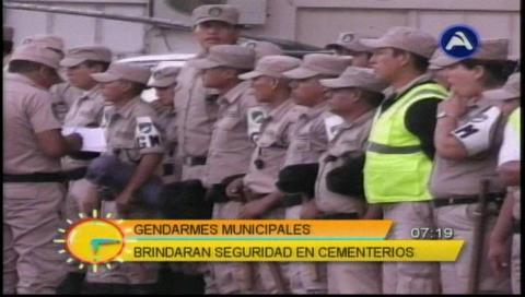Santa Cruz: 750 funcionarios municipales ejecutarán plan Todos Santos