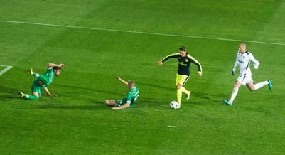 La maravilla de Özil en la victoria del Arsenal en Bulgaria. (AFP)