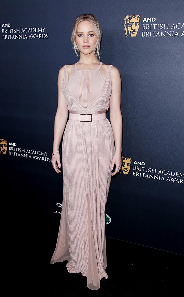 Jennifer Lawrence, Britannia Awards