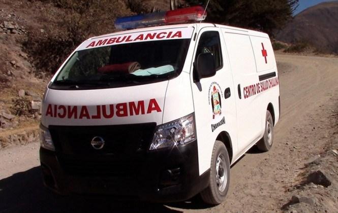 Un minibús se vuelca en Achocalla y deja 20 heridos
