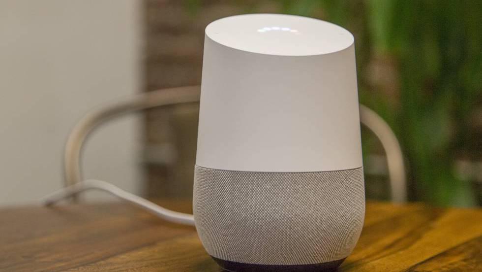 Resultado de imagen para Google Home, inteligencia artificial en pañales