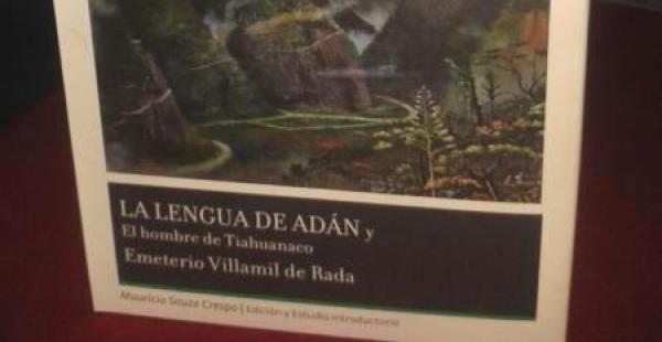 Libro de Emeterio Villamil de Rada