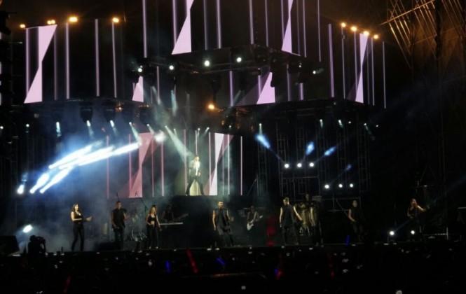 Ricky Martín deleitó con sus éxitos a su público en Santa Cruz