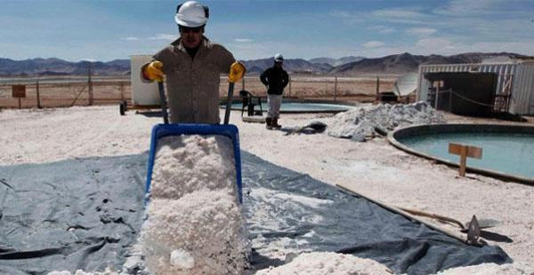 Construcción de planta de litio en Salta, Argentina