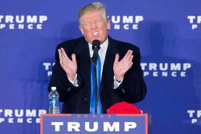 El republicano Donald Trump en un acto en Leesburg, Virginia. EFE