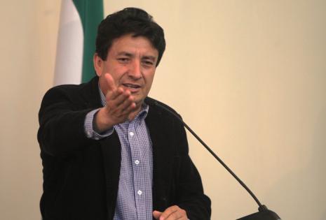 Alcides Vargas reclama por la falta de agua en Vallegrande