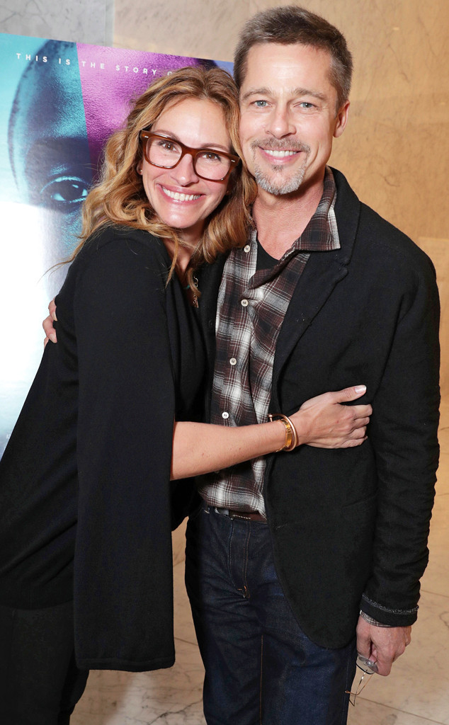 Julia Roberts, Brad Pitt