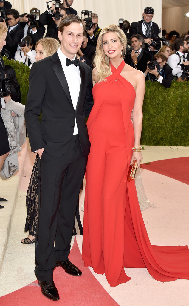 Jared Kushner, Ivanka Trump, MET Gala 2016, Couples