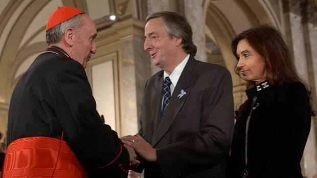 El papa Francisco relató en un libro su relación con Néstor Kirchner