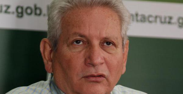 Ruben Costas irá a la relección en la gobernación cruceña