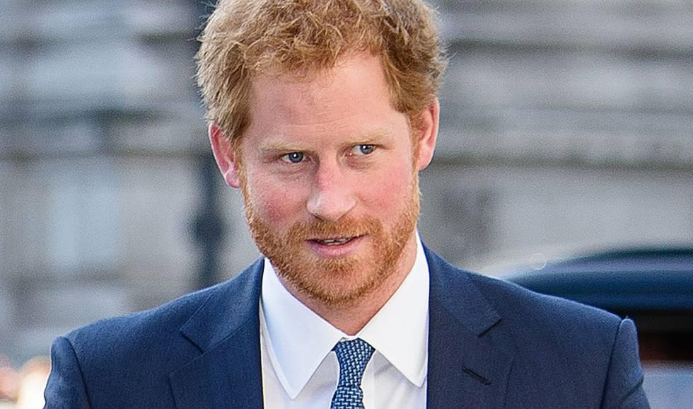 El príncipe Enrique de Inglaterra.