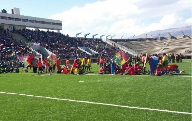"""Ni con el partido entre San José y Wilstermann se logró llenar el estadio """"Evo Morales"""""""